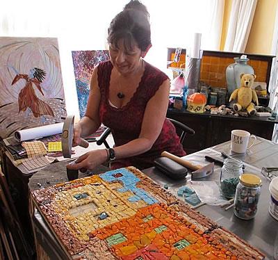 Mel Miller Mosaic Artist